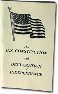 Pocket Constitution Book | Lame duck
